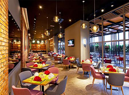 Restaurant at Straits Hotel Suites Melaka