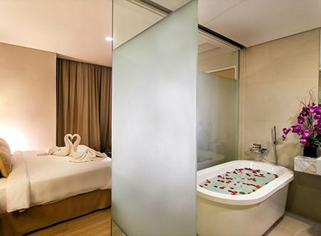 Luxurious Hotel Suites At Melaka Raya